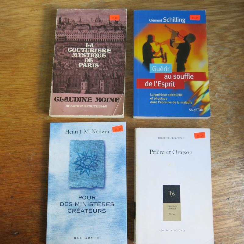 Liste de livres spirituels catholiques à vendre ! 00614