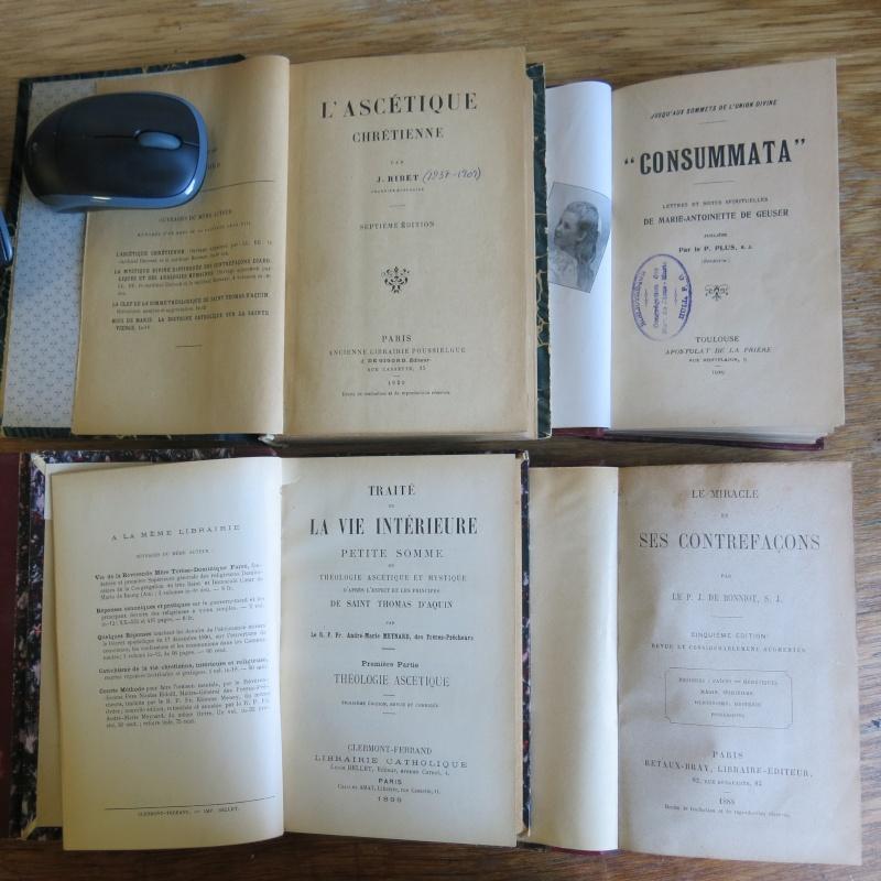 Liste de livres spirituels catholiques à vendre ! 00615
