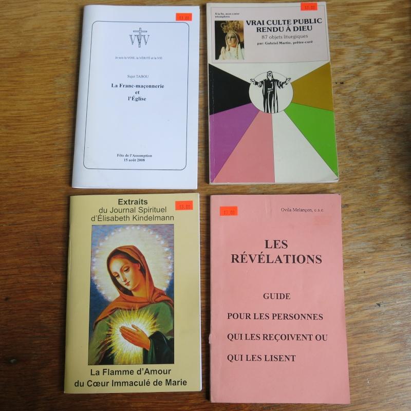 Liste de livres spirituels catholiques à vendre ! 00710