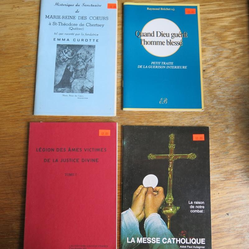 Liste de livres spirituels catholiques à vendre ! 00712