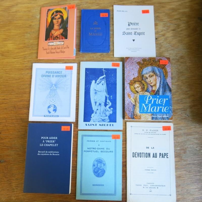Liste de livres spirituels catholiques à vendre ! 00811