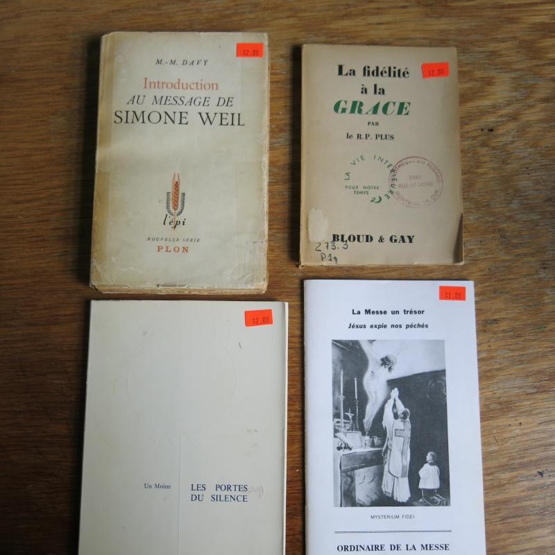 Liste de livres spirituels catholiques à vendre ! 00812