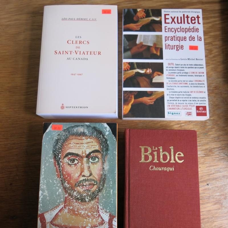 Liste de livres spirituels catholiques à vendre ! 00814