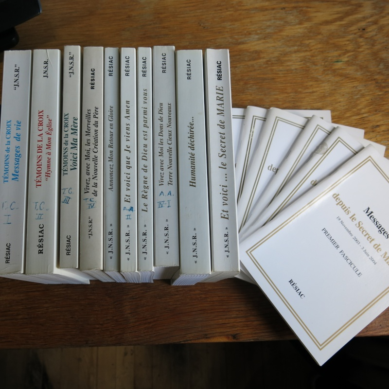 Liste de livres spirituels catholiques à vendre ! 00815