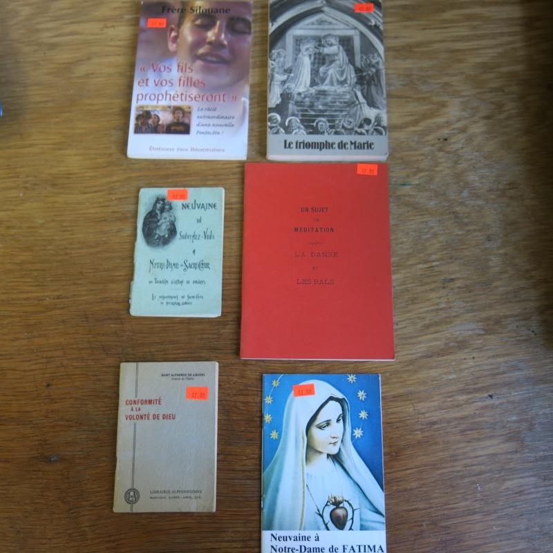Liste de livres spirituels catholiques à vendre ! 00911