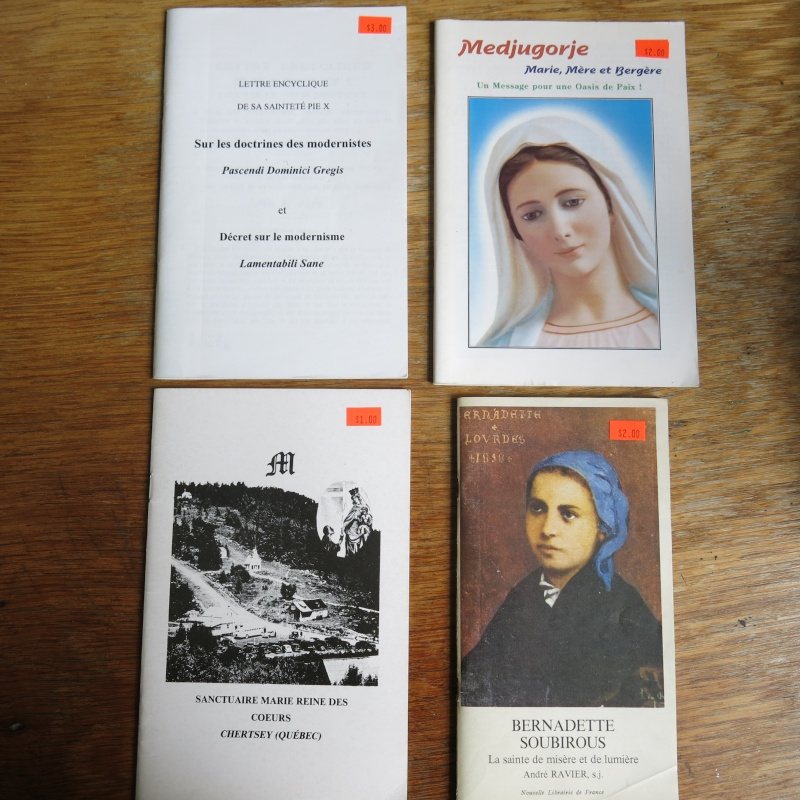 Liste de livres spirituels catholiques à vendre ! 00912