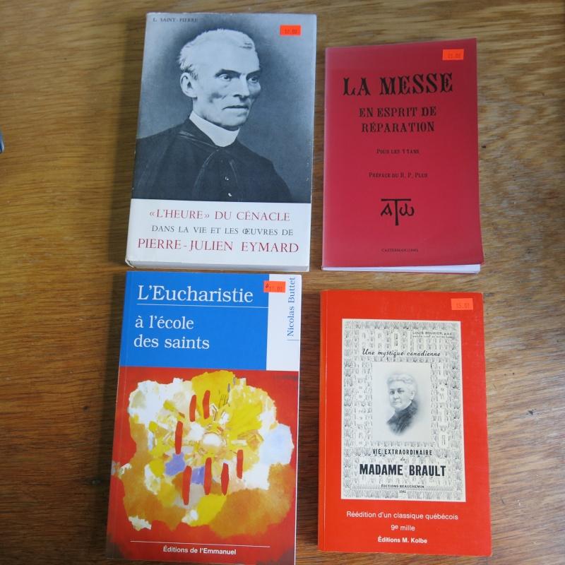Liste de livres spirituels catholiques à vendre ! 00913