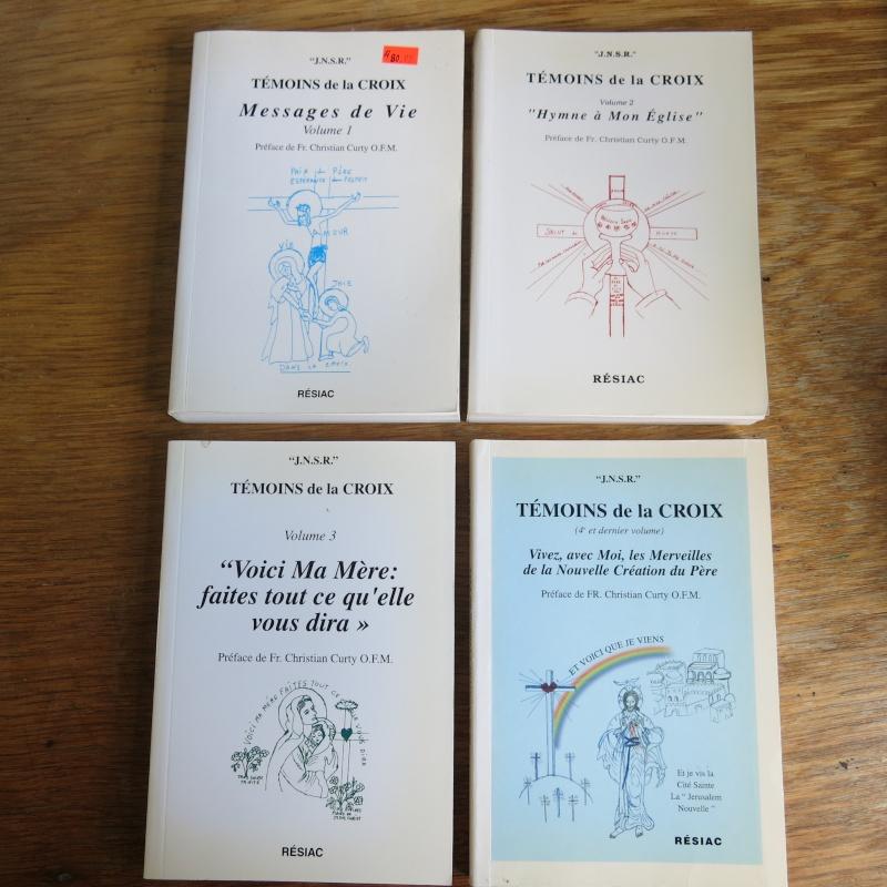 Liste de livres spirituels catholiques à vendre ! 00915