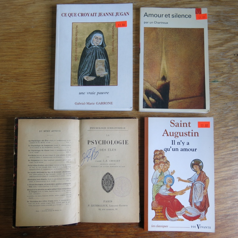 Liste de livres spirituels catholiques à vendre ! 01010