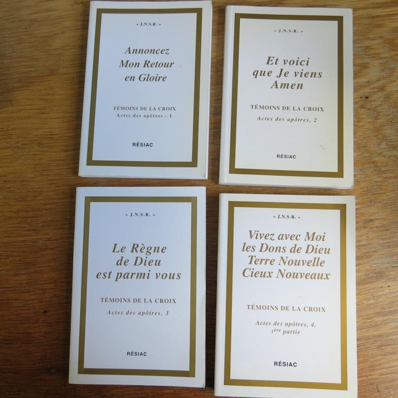 Liste de livres spirituels catholiques à vendre ! 01015