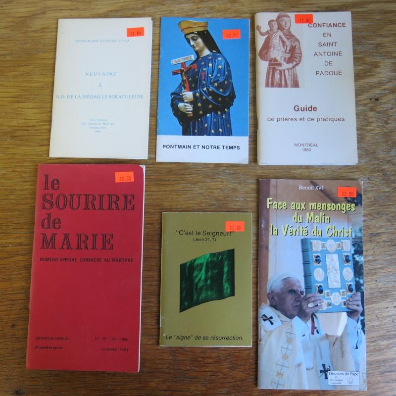Liste de livres spirituels catholiques à vendre ! 01111