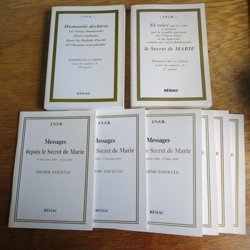 Liste de livres spirituels catholiques à vendre ! 01114