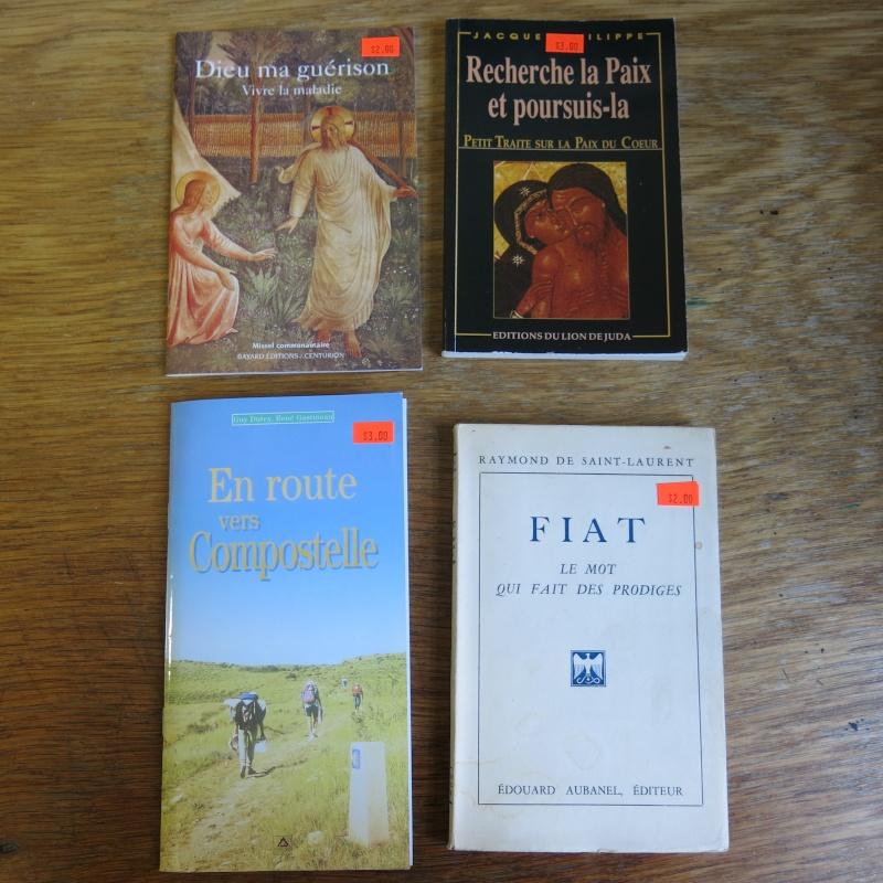 Liste de livres spirituels catholiques à vendre ! 01210