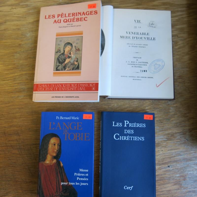 Liste de livres spirituels catholiques à vendre ! 01211