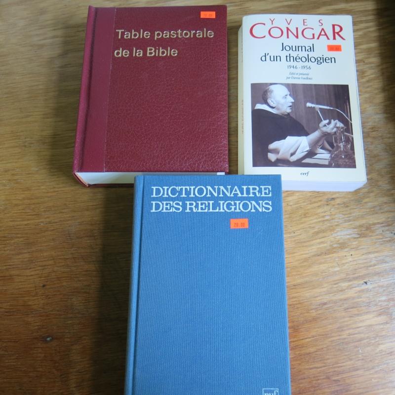 Liste de livres spirituels catholiques à vendre ! 01312
