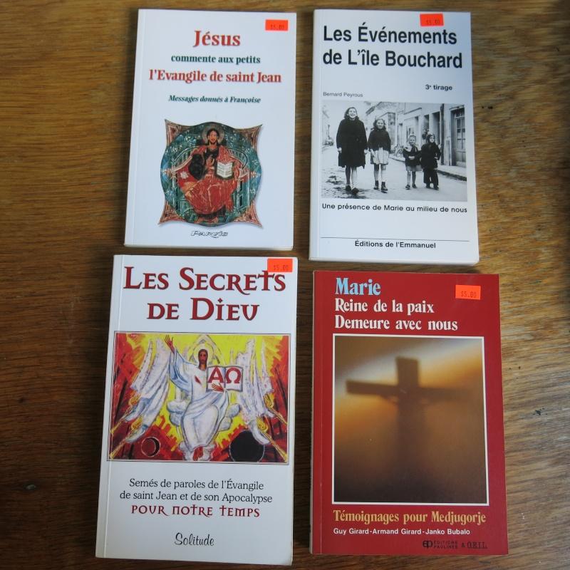 Liste de livres spirituels catholiques à vendre ! 01313