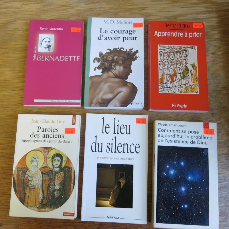 Liste de livres spirituels catholiques à vendre ! 01411