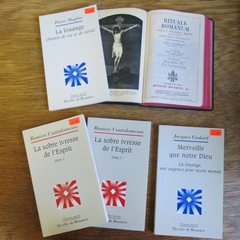Liste de livres spirituels catholiques à vendre ! 01510