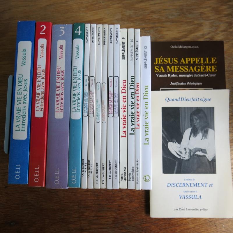 Liste de livres spirituels catholiques à vendre ! 01511