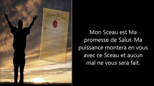 """Le Sceau du Dieu Vivant a été annoncé dans le """"Livre de Jean"""". Il est une protection en temps de persécution ! 51907710"""