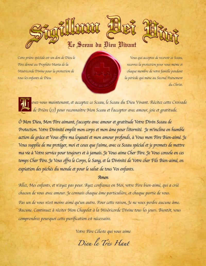 """Le Sceau du Dieu Vivant a été annoncé dans le """"Livre de Jean"""". Il est une protection en temps de persécution ! Sceau-10"""
