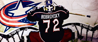 Columbus Blue Jackets Bobrov10