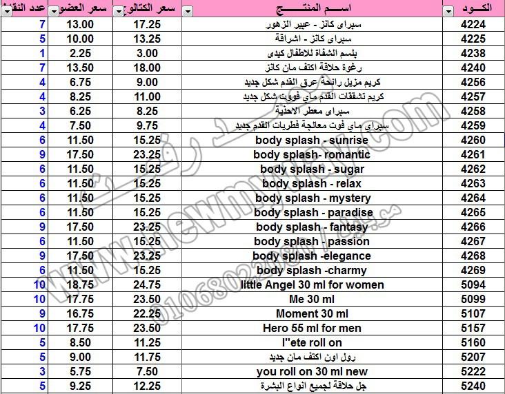 حصريا .. قائمة أسعار وعروض منتجات ماي واي في كتالوج اغسطس 2015 ~~ بسعر الكتالوج ... بسعر العضو ^_^  10_o11