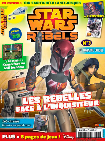 Magazine STAR WARS REBELS #3 Fstwr010