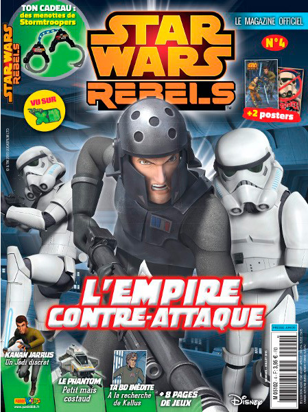 Magazine STAR WARS REBELS #4 Fstwr011