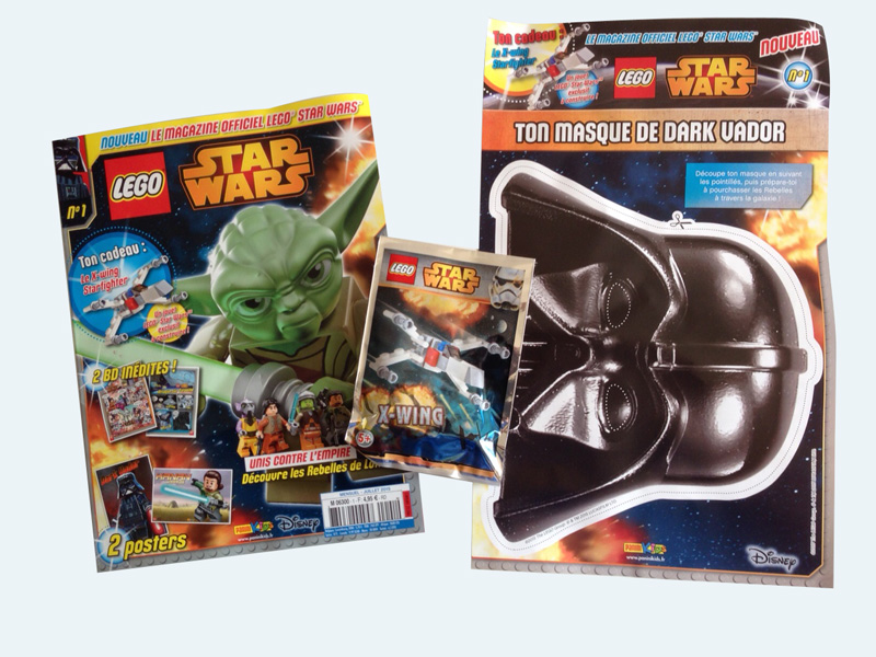Magazine Panini STAR WARS LEGO #1 Img_4512
