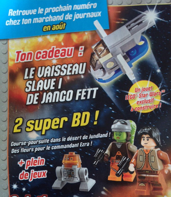 Magazine Panini STAR WARS LEGO #1 Img_4514
