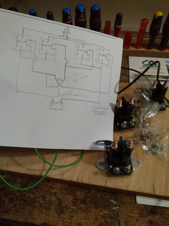 Coup de main - Electricité Treuil 12 Volts 110