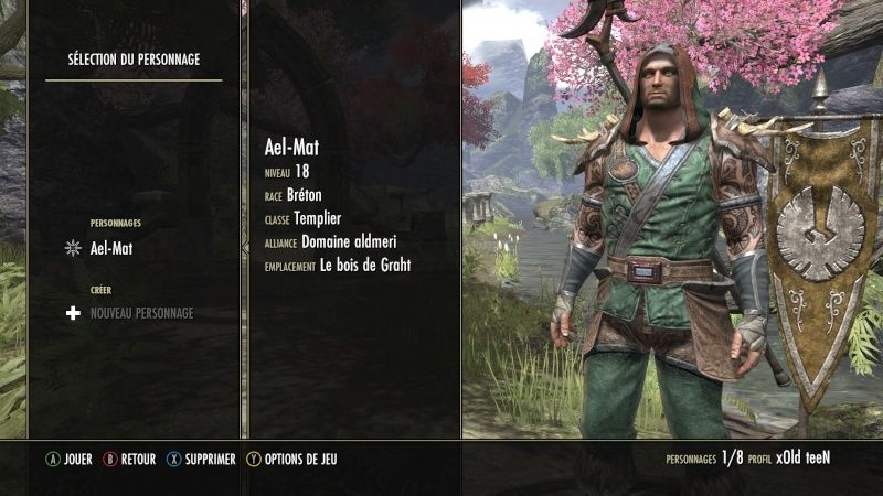 The Elder Scrolls Online : TESO - Nos personnages Screen10