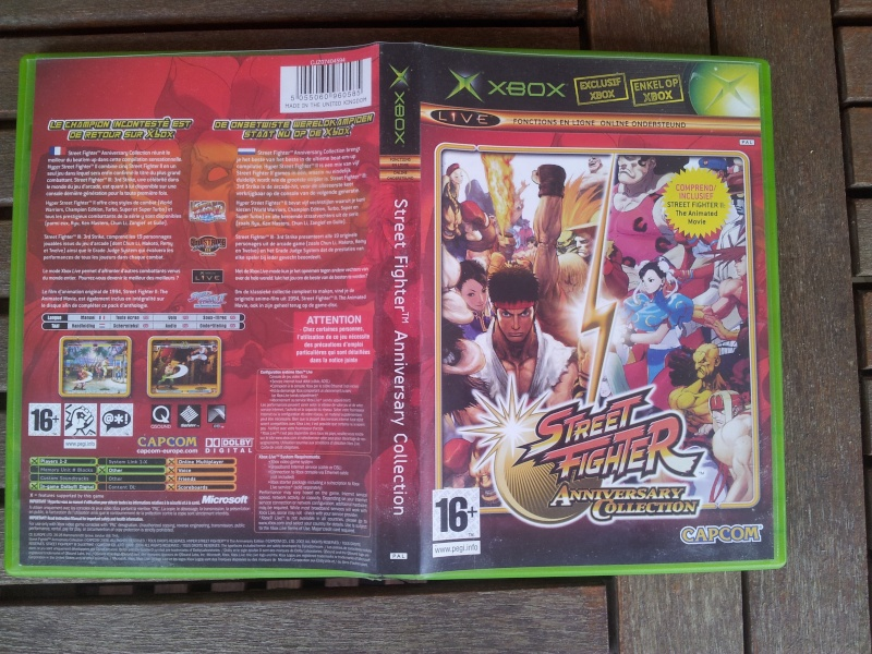 [VDS] Outrun 2 xbox NTSC/J Street Fighter Anniversary PAL 20150715