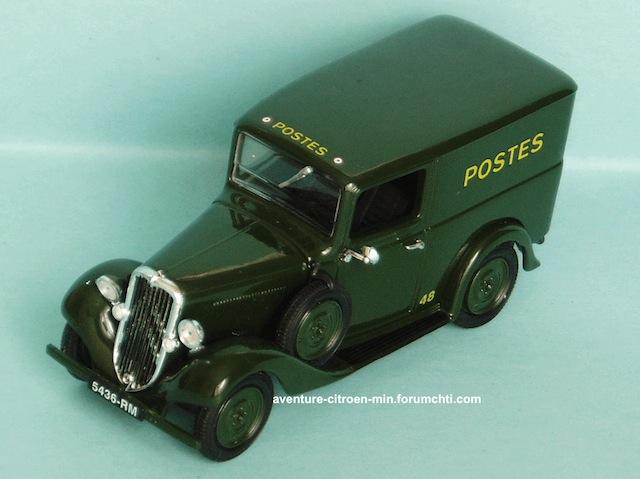 """Citroën Fourgons et voitures de livraison """"500 kg - Rosalie"""" 1934ro11"""