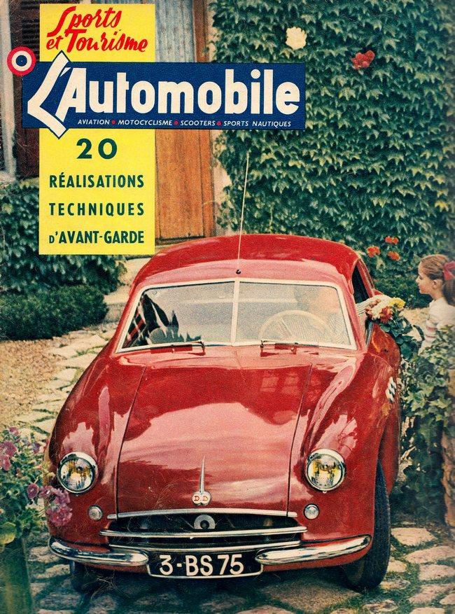 Citroën et Charles DEUTSCH & René BONNET - 1938 > 1949 1953_l10