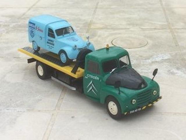 Mes transfos sur base Citroën 2210