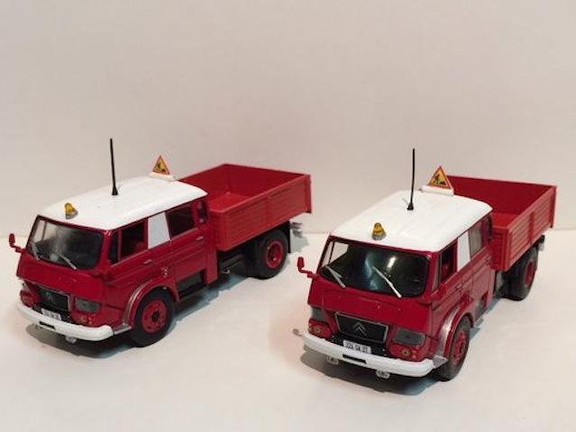 Mes transfos sur base Citroën 711