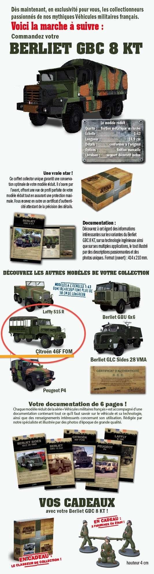 """2015 > NOUVEAU > Direkt Collections > """"Véhicules Militaires Français"""" Atlas-10"""