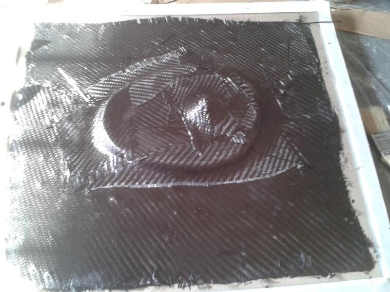Carbone/Epoxy Pré Imprégné 2015-026