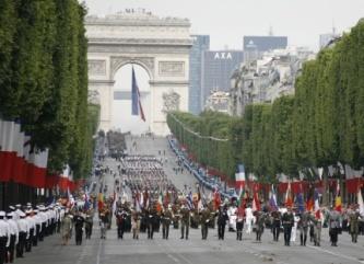 La fête nationale du 14 juillet Defile10