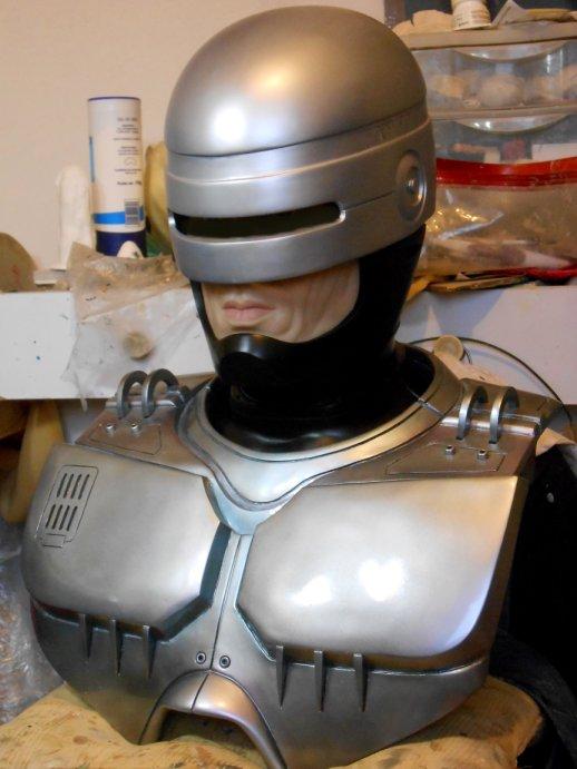 Robocop buste life size by J-P Reuchet  Dscn7413