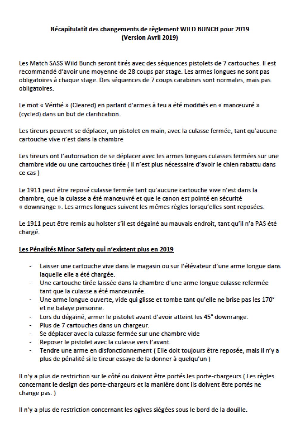 Nouvelles règles Wild Bunch Captur11