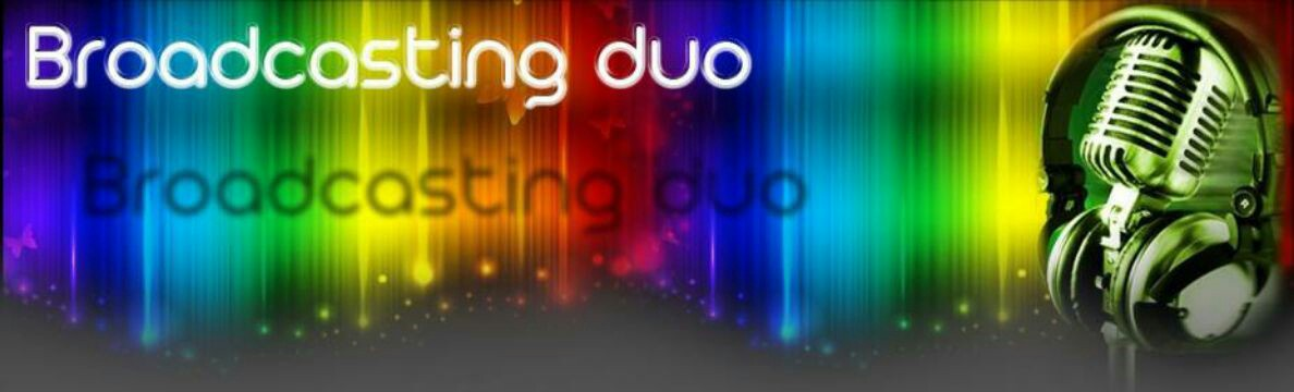 Broadcasting Duo Official Twitter! Webpag10