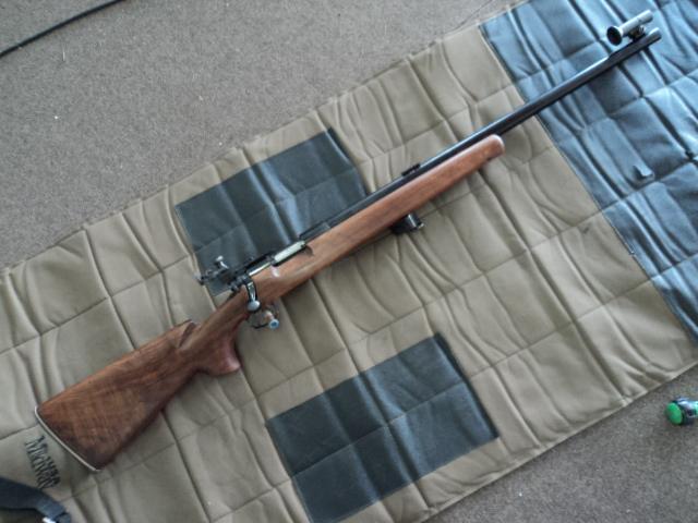 US Small Bore (22lr) History : Remington: 513 T, Mod 37, 40x  VS  Winchester 75, 52 - Page 7 Dsc01310