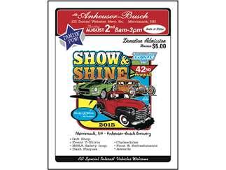 42nd Annual Show-N-Shine @ Bud plant Merrimack 8-2-15 Show-n10