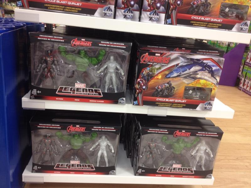 Marvel Legends Hulk/Ultron/Vision 3-pack at Target $79 Ml310