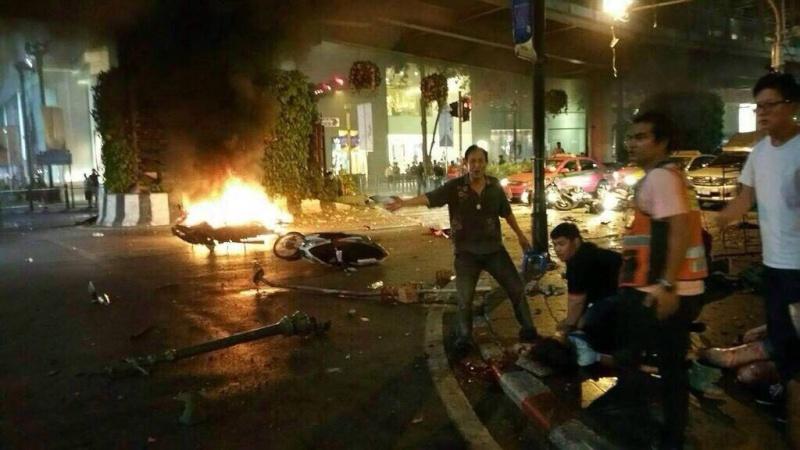 Atentado en Bangkok. Al menos 12 muertos. 11865110