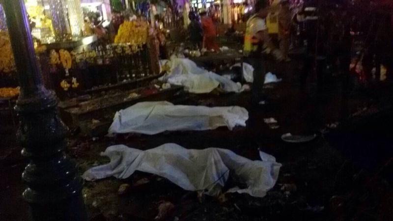 Atentado en Bangkok. Al menos 12 muertos. 11894910