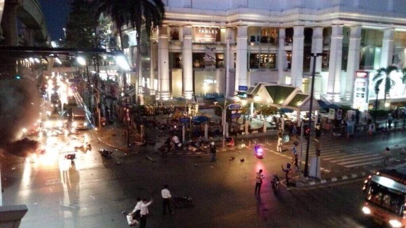 Atentado en Bangkok. Al menos 12 muertos. 11899110